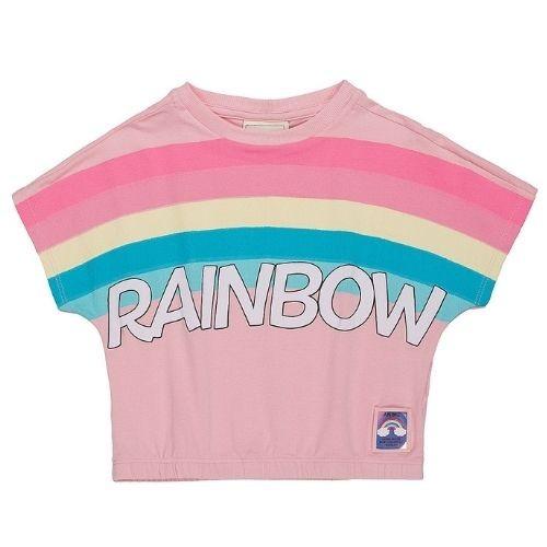 Blusa Feminina Infantil Rainbow