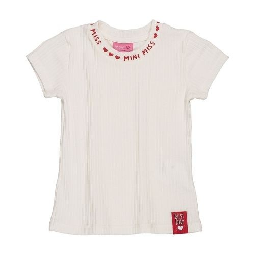 Blusa Infantil Feminina Mini Miss com Corações