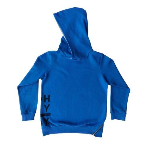 Blusa Moletom Infantil Masculina Azul Royal