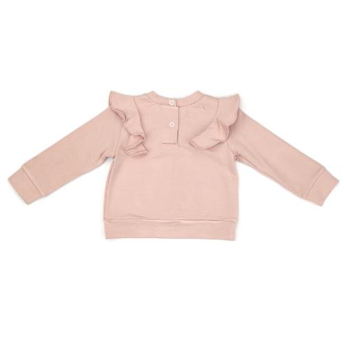 Blusa Infantil Feminina Rosé Corações