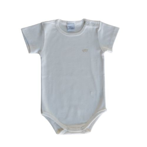 Body Bebê Manga Curta Anjos Baby