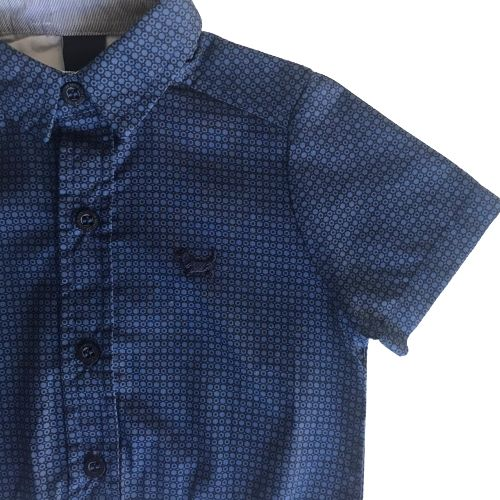 Body Camisa Bebê Masculina Estampada