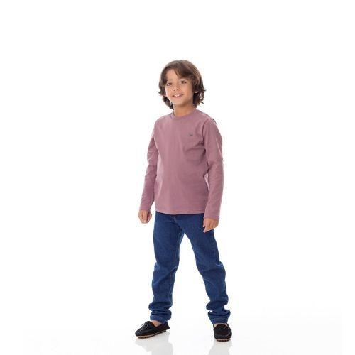 Calça Infantil Masculina Jeans Reta