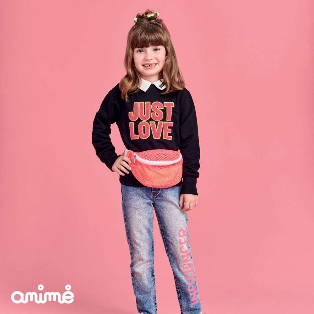 Calça Infantil Jeans Feminina Influencer