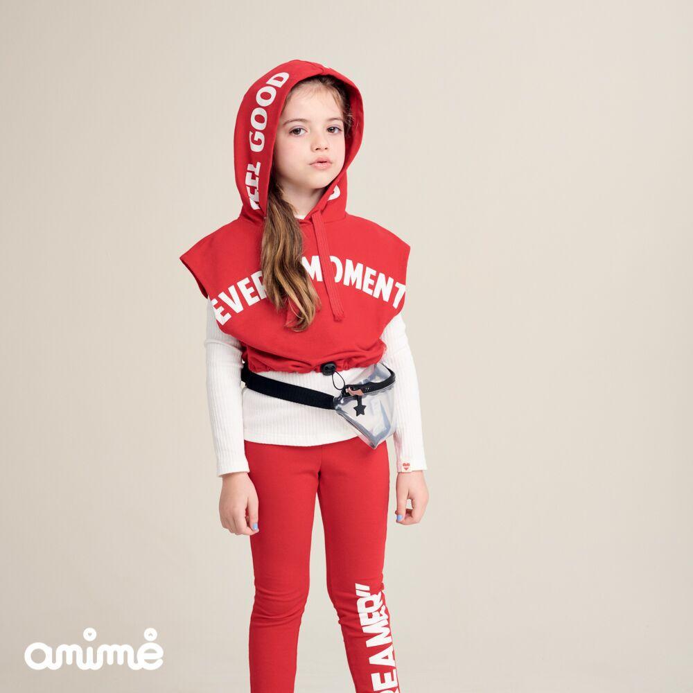 Calça Infantil Feminina Vermelha Dreamer
