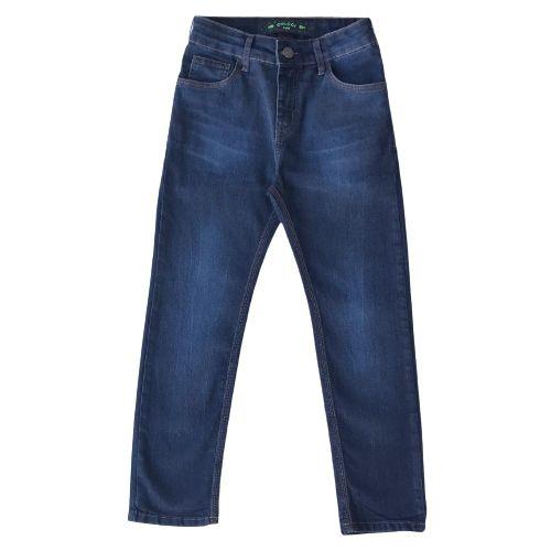 Calça Jeans Infantil Masculina Azul Escura