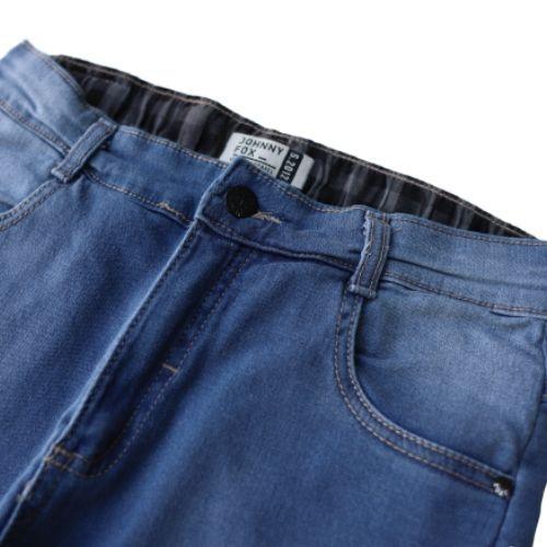 Calça Jeans Infantil Masculina Slim Destroyed
