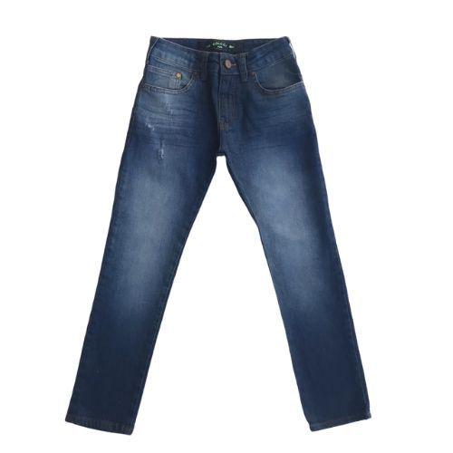 Calça Jeans Infantil Masculina Slim Estonada