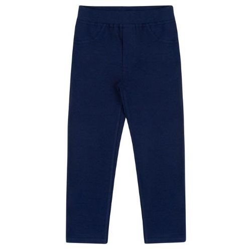 Calça Montaria Infantil Feminina Azul Marinho