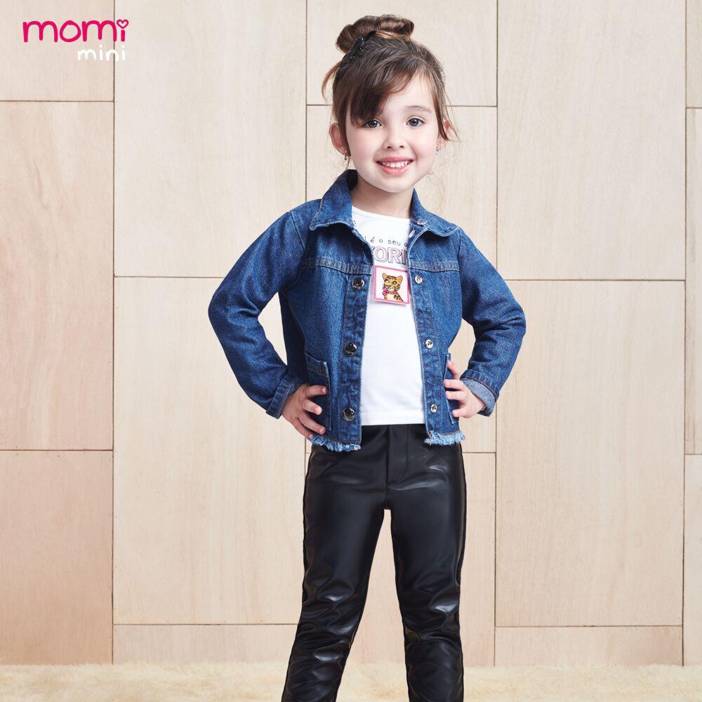 Calça Montaria Infantil Feminina Couro Eco