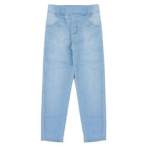 Calça Montaria Infantil Feminina Jeans Claro
