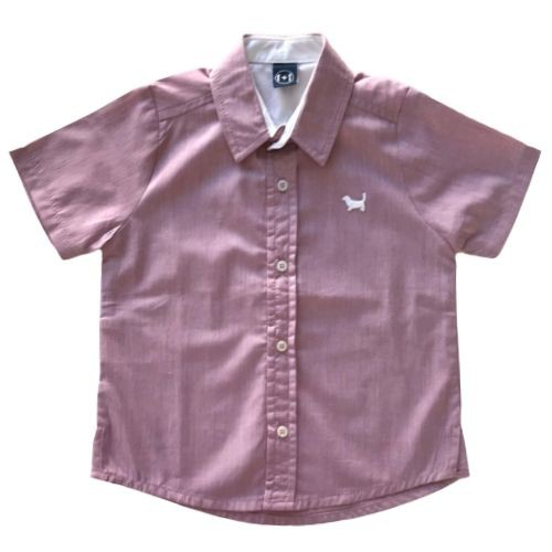 Camisa Infantil Masculina Listras Finas