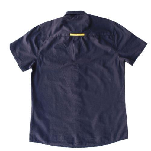 Camisa Infantil Masculina Slim Preta