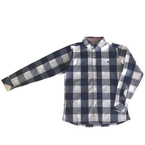 Camisa Infantil Masculina Xadrez