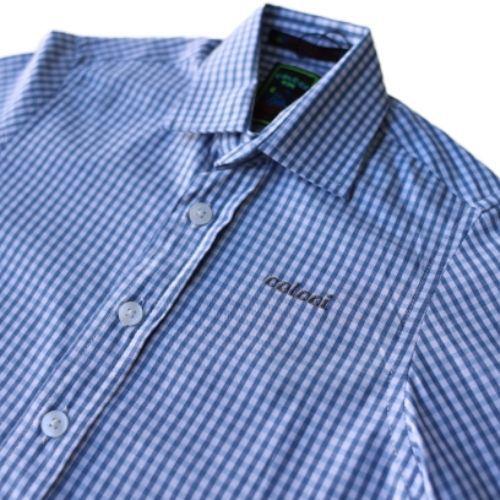 Camisa Infantil Masculina Xadrez Vichy