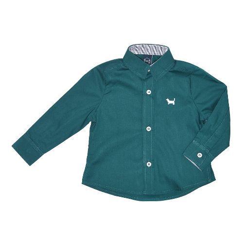 Camisa Tricoline Infantil Masculina