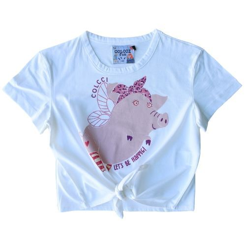 Camiseta Infantil Feminina Be Happig