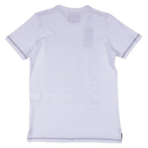 Camiseta Infantil Masculina Branca Astronauta