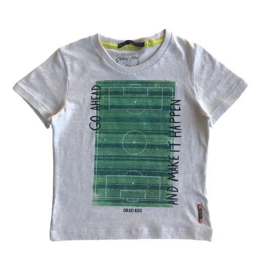 Camiseta Infantil Masculina Campo de Futebol