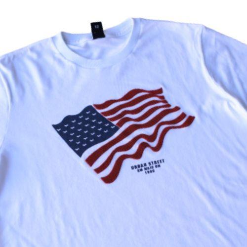 Camiseta Infantil Masculina Branca Estampa Emborrachada