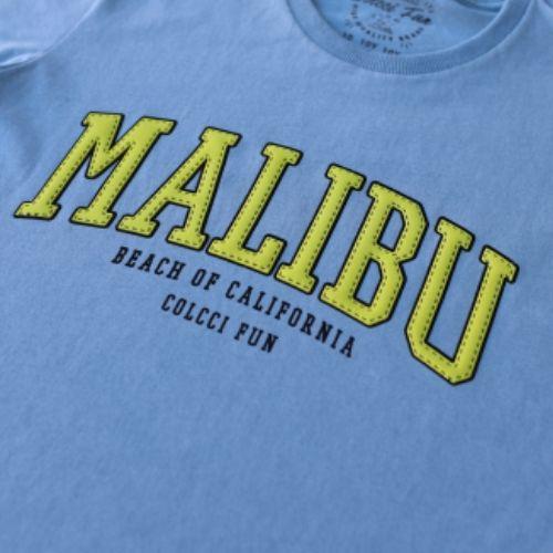 Camiseta Infantil Masculina Malibu Colcci Fun