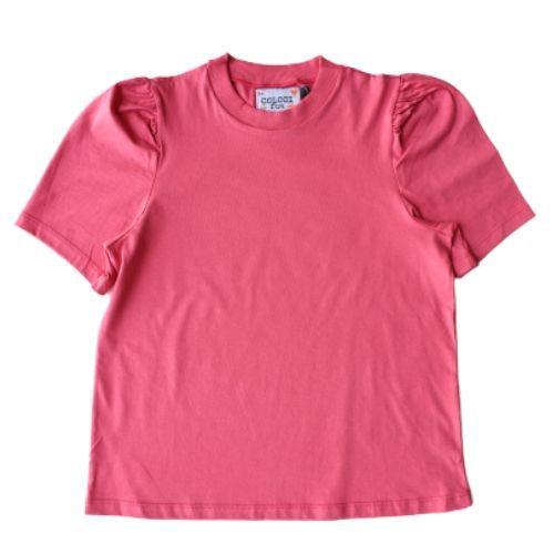 Camiseta Infantil Feminina Manga Princesa