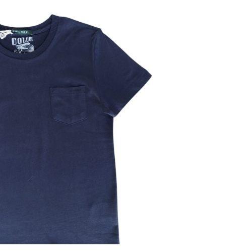Camiseta Infantil Masculina Básica com Bolso