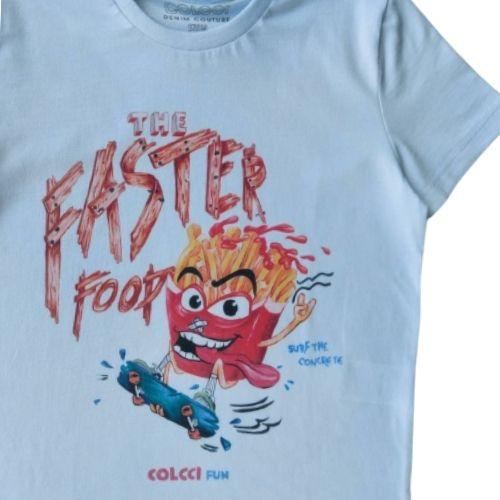 Camiseta Infantil Masculina Batata Frita