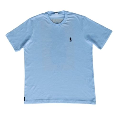 Camiseta Infantil Masculina Branca Abacaxi Costas