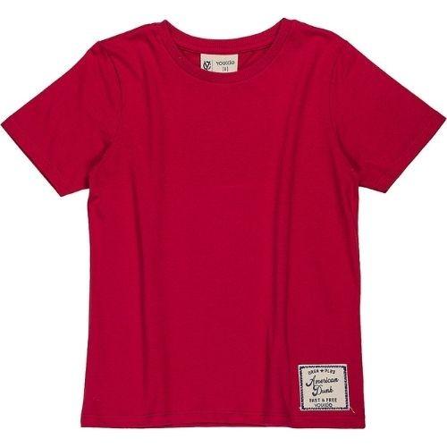 Camiseta Infantil Masculina Cores Solidas