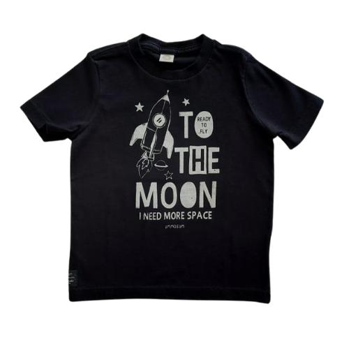Camiseta Infantil Masculina Estampada