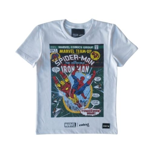 Camiseta Infantil Masculina Marvel