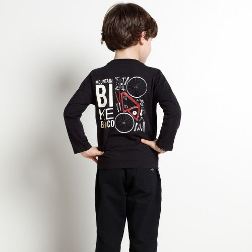 Camiseta Infantil Masculina Mountain Bike