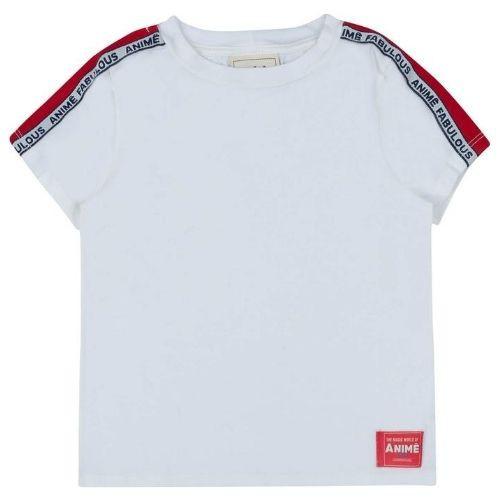 Camiseta Infantil Feminina Off White Fabulous