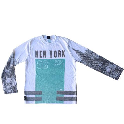 Camiseta Infantil Masculina Off White New York