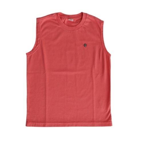 Camiseta Regata Masculina Infantil Estampa Costas 1+1
