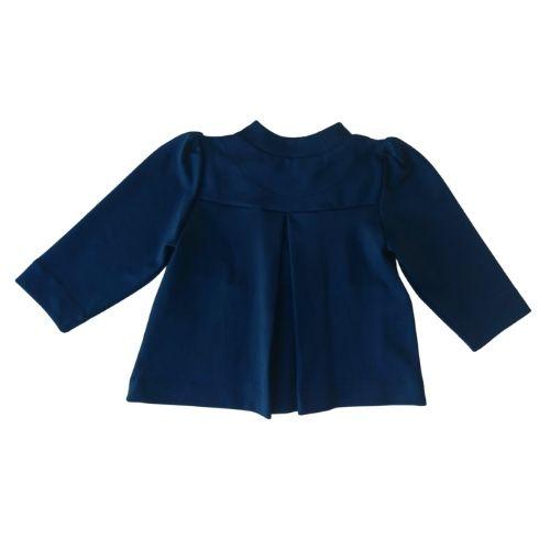 Casaco Infantil Feminino Azul Marinho Mon Sucré