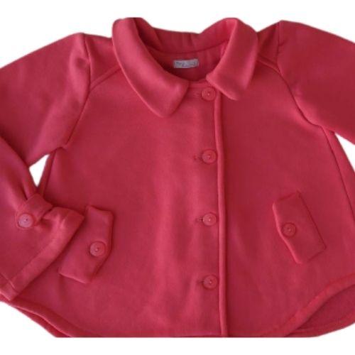 Casaco Infantil Feminino Moletom Pink