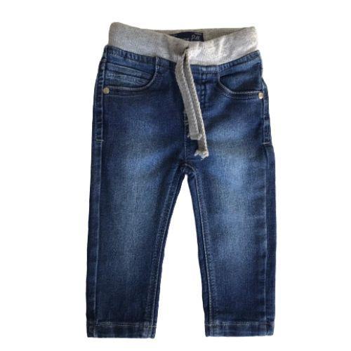 Conjunto Masculino Bebê Blusa Astronaut com Calça Jeans