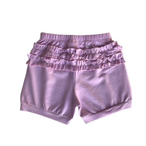 Conjunto Feminino Bebê Body Bailarina com Shorts e Babador