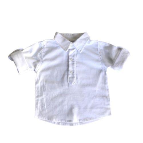 Conjunto Masculino Bebê Camisa e Bermuda com Suspensório
