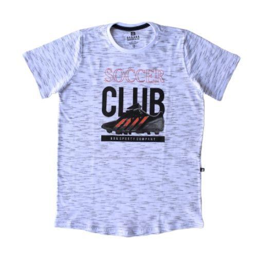 Conjunto Masculino Infantil Camiseta Chuteira Soccer Club com Calça