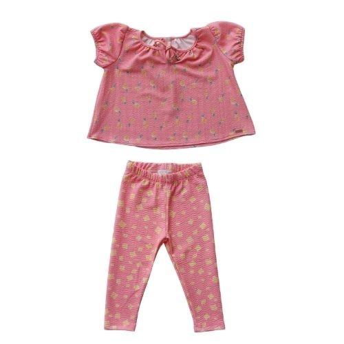Conjunto Infantil Feminino Bata e Legging