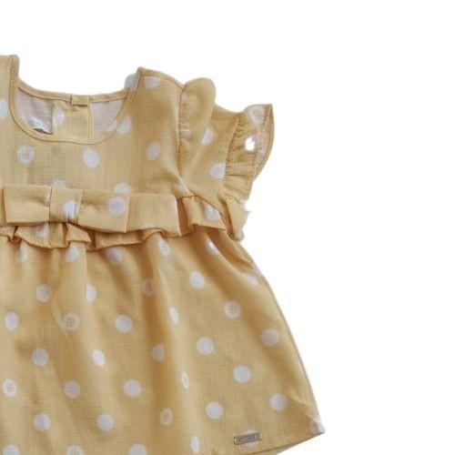Conjunto Infantil Feminino Bata e Short