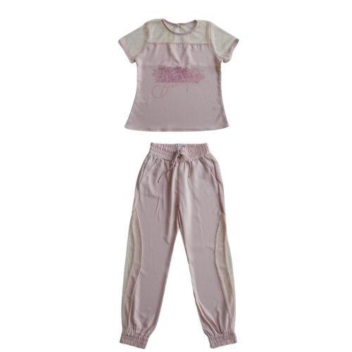 Conjunto Infantil Feminino Blusa e Calça Jogger