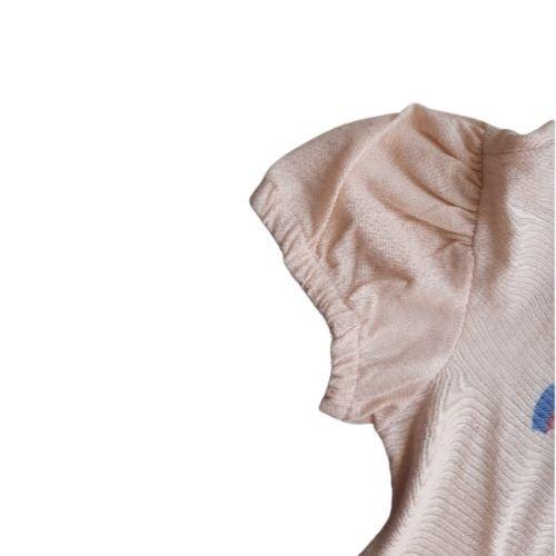 Conjunto Infantil Feminino Blusa e Short Listrado