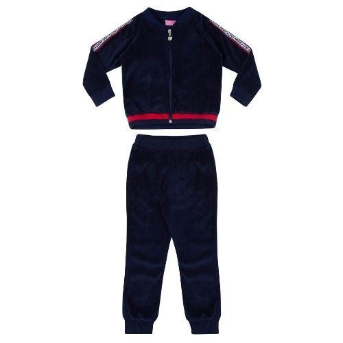 Conjunto Feminino Infantil Plush Azul Marinho
