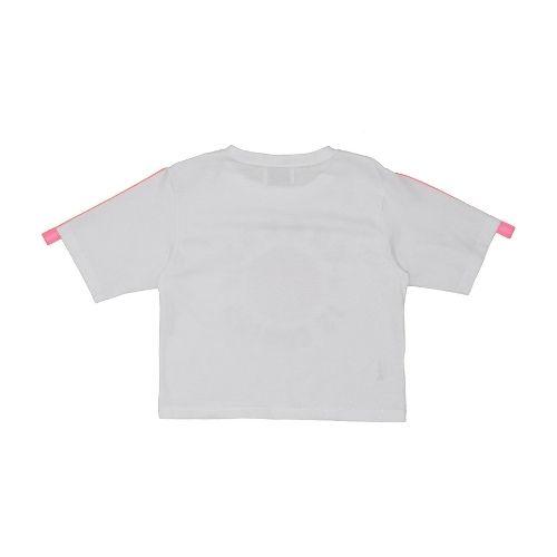 Cropped Infantil Feminino Branco Globo Two In