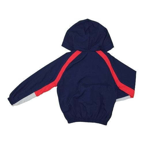 Jaqueta Infantil Masculina Corta Vento Azul Marinho 1+1