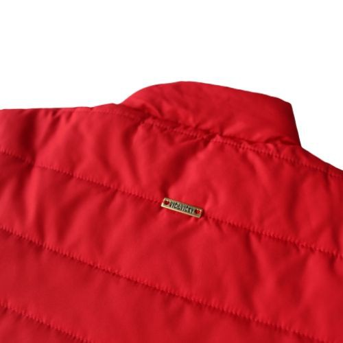 Jaqueta Feminina Infantil Nylon Vermelha